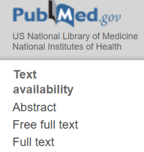 Latest orderable PubMed articles